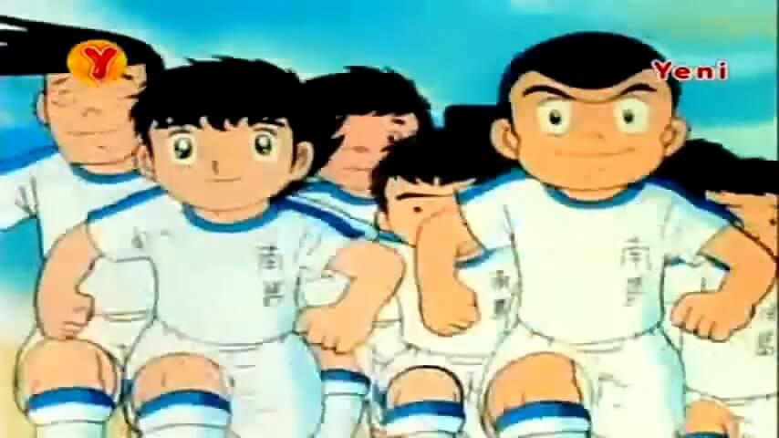 kaptan tsubasa ilk seri 3. bölüm